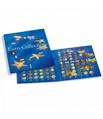 LEUCHTTURM PRESSO Eurocollection I. Carpeta 12 países. Album Monedas Euro - 6