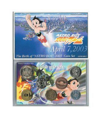 Japón (2003) estuche año proof - ASTRO BOY  - 2
