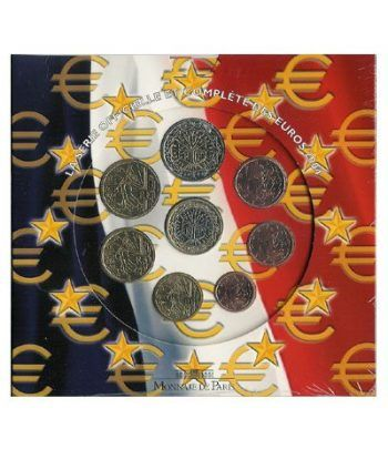 Cartera oficial euroset Francia 2004  - 2
