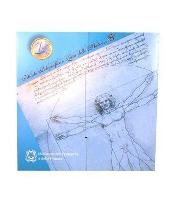 Cartera oficial euroset Italia 2003 (incluye 5 € plata)  - 1