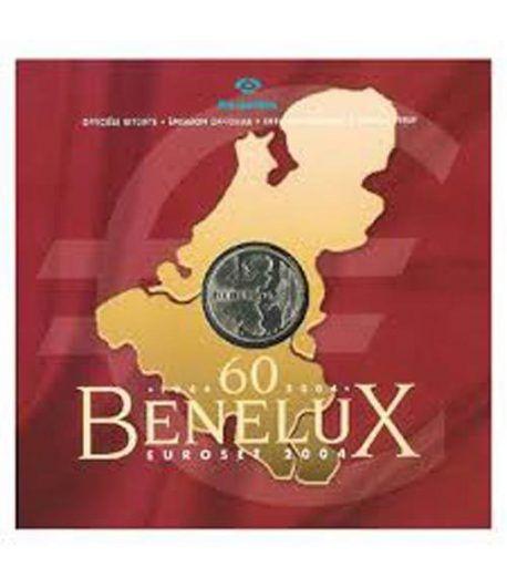 Cartera oficial euroset Benelux 2004  - 2