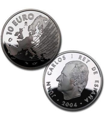 Moneda 2004 Ampliación Unión Europea 10 euros. Plata.  - 2