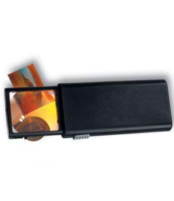 LEUCHTTURM Lupa con luz de bolsillo CLICK 5 aumentos Lupas - 2