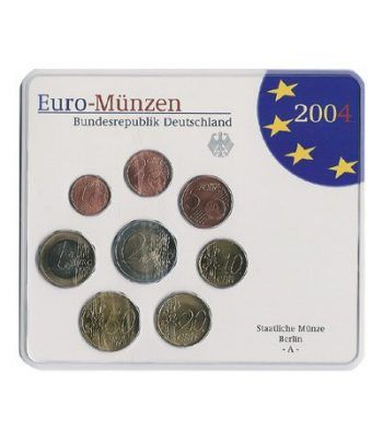 Cartera oficial euroset Alemania 2004 (5 cecas).  - 2