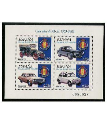 3996 HB 100 años Real Automóvil Club de España  - 2