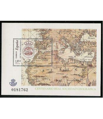 4021 HB Centenario de la Real Sociedad Geográfica  - 2