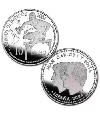Moneda 2004 Juegos Olimpicos Atenas 2004. 10 euros. Plata.  - 2