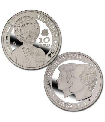 Moneda 2004 Año Santo Xacobeo 2004. 10 euros. Plata.  - 2