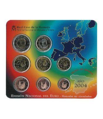 Cartera oficial euroset España 2004  - 2