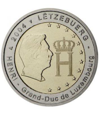moneda conmemorativa 2 euros Luxemburgo 2004.  - 2