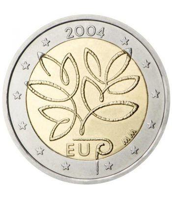 moneda conmemorativa 2 euros Finlandia 2004.  - 2