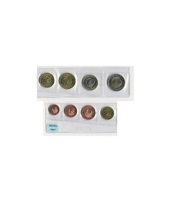 monedas euro serie España 2004  - 2