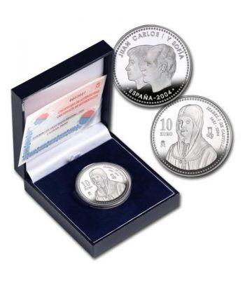 Moneda 2004 Vº Centº de Isabel I de Castilla. 10 euros. Plata.  - 2