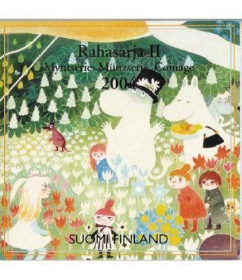 Cartera oficial euroset Finlandia 2004 2º. Los mumins.  - 2