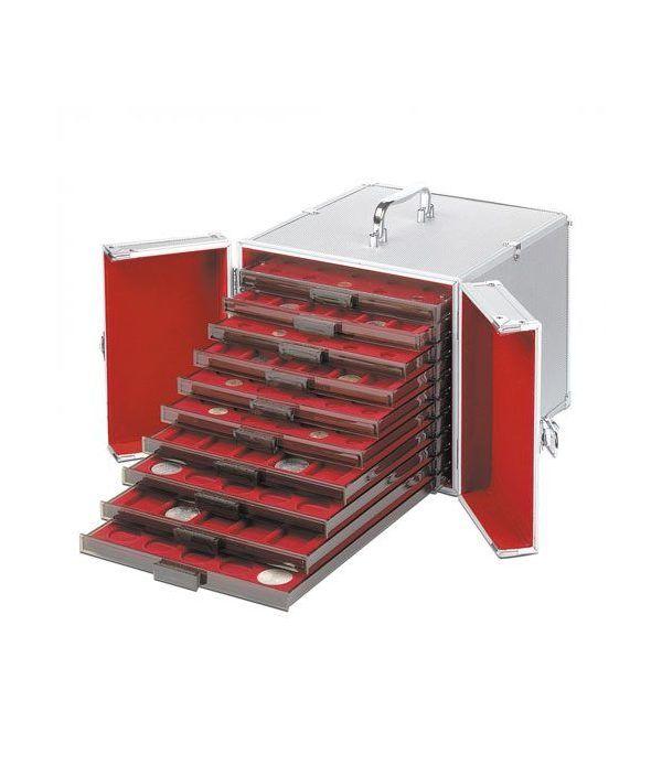 LEUCHTTURM Maletin aluminio CARGO MB 10 para 10 bandejas. Maletines monedas - 1