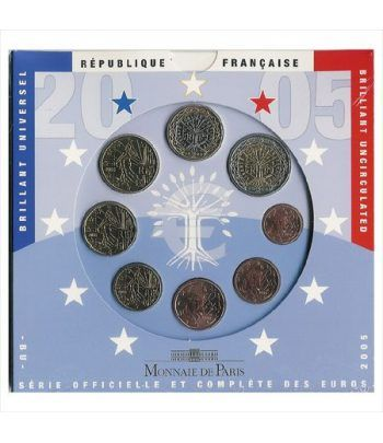 Cartera oficial euroset Francia 2005  - 2