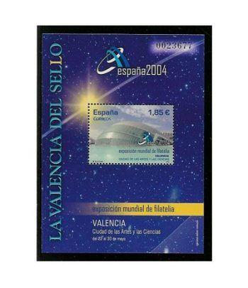 4034HB Exposición Mundial de Filatelia España 2004  - 2