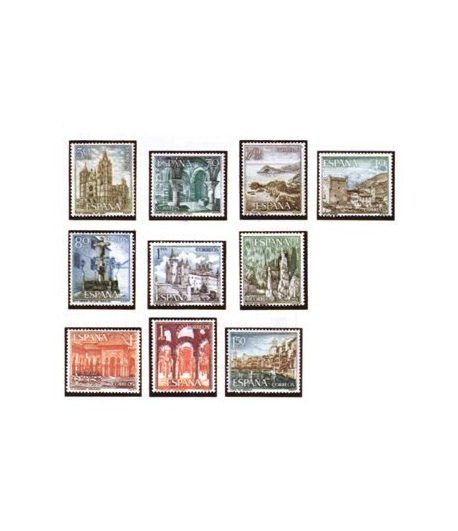 1541/50 Serie Turística. Paisajes y Monumentos  - 2
