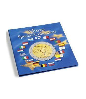 LEUCHTTURM PRESSO Album monedas 2€ conmemorativas. Album Monedas Euro - 1