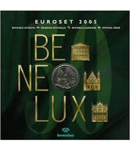 Cartera oficial euroset Benelux 2005  - 2