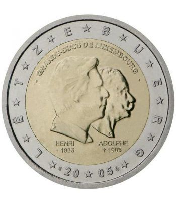 moneda conmemorativa 2 euros Luxemburgo 2005.  - 2