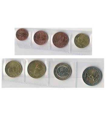 monedas euro serie Grecia 2004  - 2