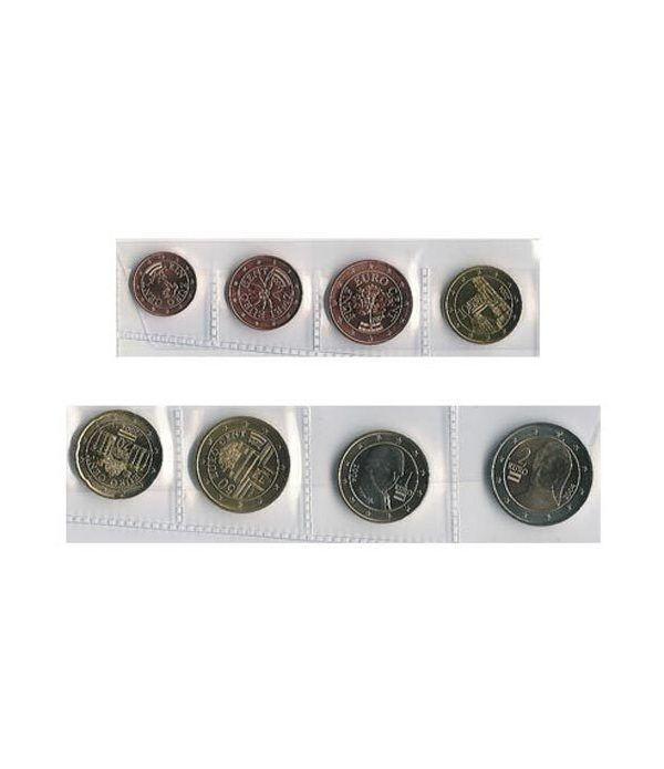 monedas euro serie Austria 2004  - 2