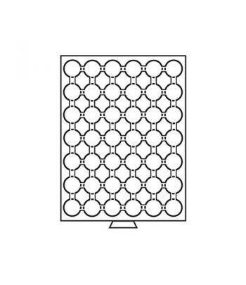 LEUCHTTURM Bandejas MB (236x303) 42 monedas CAPS 24-24,5 Capsulas Monedas - 4