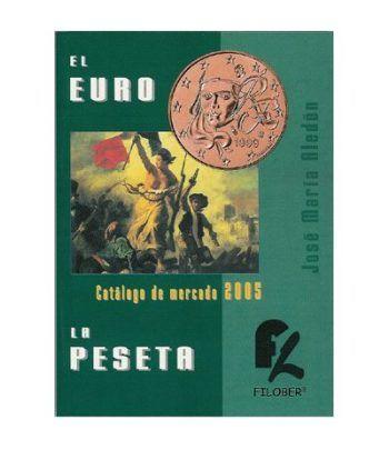 Monedas y billetes ALEDON 2005 El Euro y La Peseta. Bolsillo. Catalogos Monedas - 2