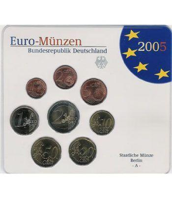 Cartera oficial euroset Alemania 2005 (5 cecas).  - 2