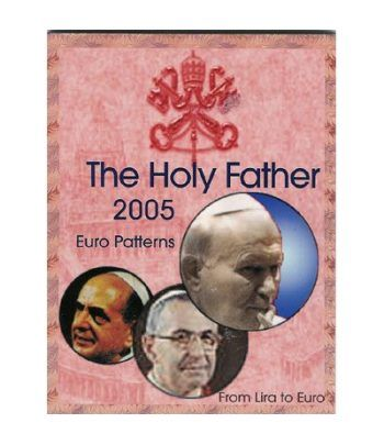 Serie Euro prueba Vaticano THE HOLY FATHER 2005  - 2