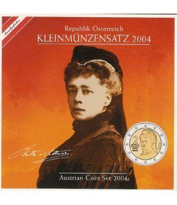 Cartera oficial euroset Austria 2004  - 2