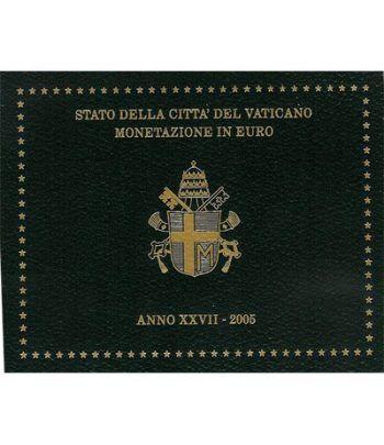 Cartera oficial euroset Vaticano 2005  - 2