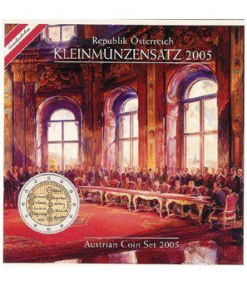 Cartera oficial euroset Austria 2005  - 2