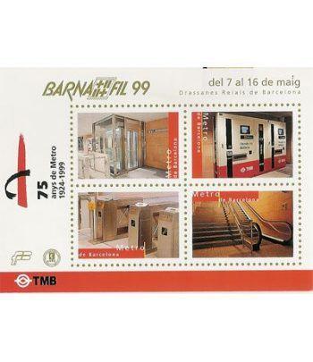 1999 BARNAFIL. Hojita recuerdo  - 2