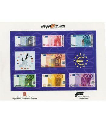 2002 BARNAFIL. Hojita recuerdo monedas euro  - 2
