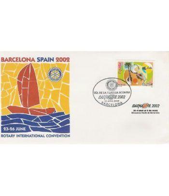 2002 BARNAFIL. Sobre 1º dia Spain  - 2