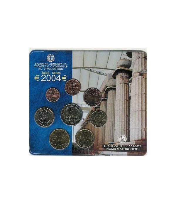 Cartera oficial euroset Grecia 2004  - 2