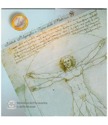 Cartera oficial euroset Italia 2005 (incluye 5 € plata)  - 2