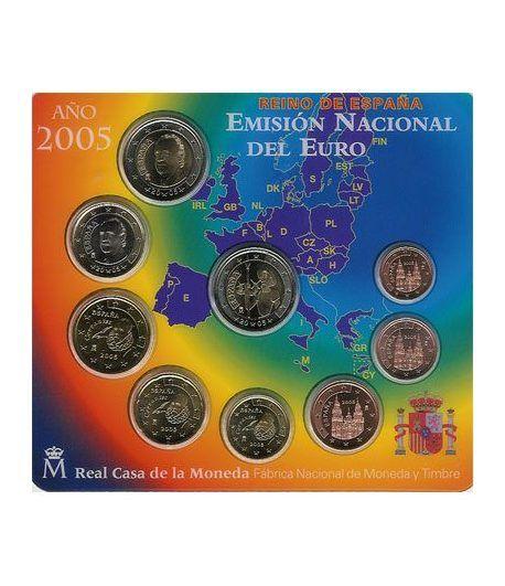 Cartera oficial euroset España 2005  - 2