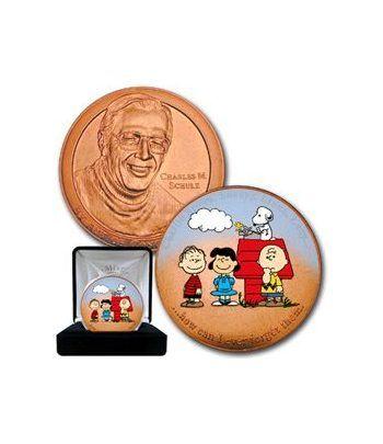 Medalla Charles Shuyltz. Snoopy. Año 2000.  - 2