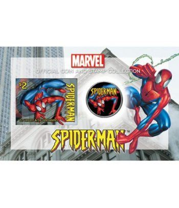 E.E.U.U. 1/2$ (2004) Spiderman + sello  - 2