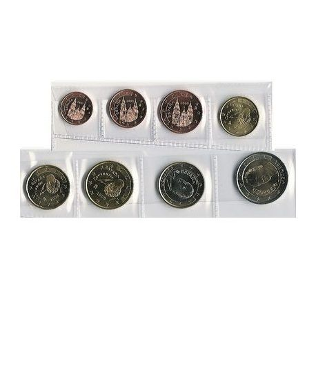 monedas euro serie España 2005  - 2