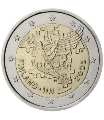 moneda conmemorativa 2 euros Finlandia 2005.  - 2