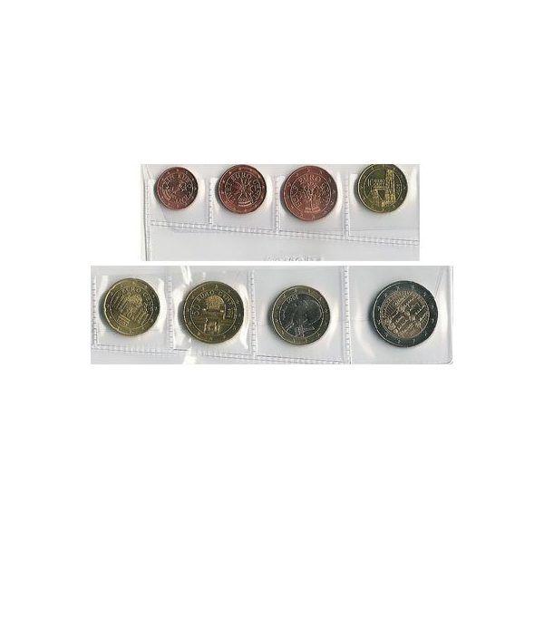 monedas euro serie Austria 2005  - 2