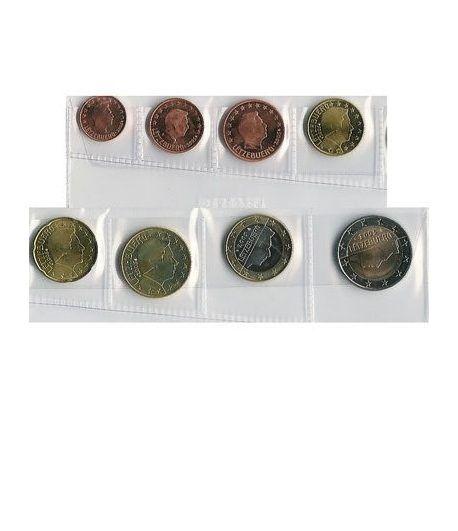 monedas euro serie Luxemburgo 2005  - 2