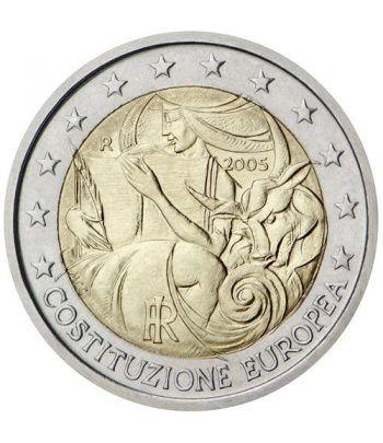 moneda conmemorativa 2 euros Italia 2005.  - 2