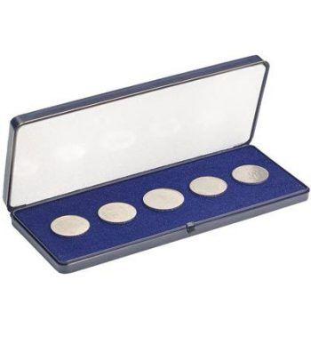 LEUCHTTURM Estuche para monedas hasta 60 mm. 200x80 Estuche Monedas - 2