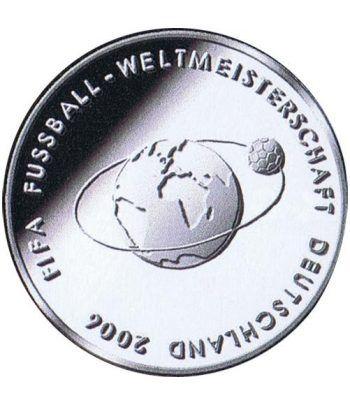 moneda Alemania 10 Euros 2004 Fifa.  - 1