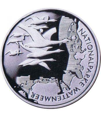 moneda Alemania 10 Euros 2004 J. Parque Wattenmeer  - 1